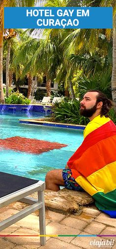 Hotel gay em Curaçao: conheça o Floris Suite Hotel & Spa | Viaja Bi! Camping, Lgbt, Beach Mat, Outdoor Blanket, Spa, Getting To Know, Traveling, Central America, Caribbean
