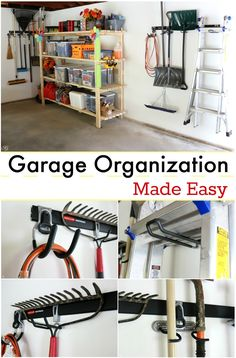 So this summer was the summer of the garage and we found a product that helped us tremendously! Our garage space had become a disaster and we needed a couple of quick solutions to help us get on track. See what our two EASY solutions were to organizing our garage, and keeping it that way! #GarageCleanUp w/@rubbermaid