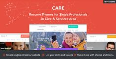 Care  Resume Wordpress Themes for Single Profesionals in Care & Service Area - Download theme here : http://themeforest.net/item/care-resume-themes-for-single-profesionals-in-care-service-area/15860229?ref=pxcr