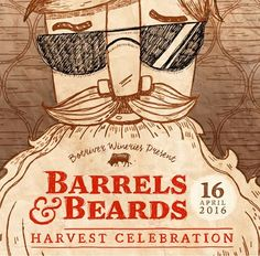 2018 Bot River Barrels & Beards Harvest Celebration where wine beauties meet hairy beasts and cool-climate top quality wines are tasted. Barrels, Beards, South Africa, Harvest, Celebration, Events, Wine, Happenings