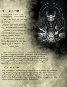 DnD Homebrew — Soulbound Race by Dungeons And Dragons Races, Dungeons And Dragons Classes, Dungeons And Dragons Homebrew, 5e Races, Dnd Classes, Science Fiction, Dnd 5e Homebrew, Dragon Rpg, Fantasy Races