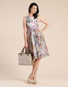 floriana floral dress, monsoon.co.uk