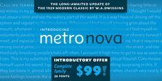 Font dňa – Metro Nova (rodina 99,00$) - http://detepe.sk/font-dna-metro-nova-rodina-9900/