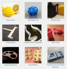 Check out our giant collection of fun, clever, and useful objects for your home, all free and ready for 3D printing