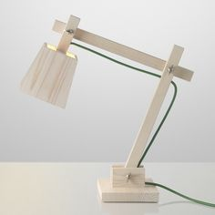 wood desk lamp - Google Search