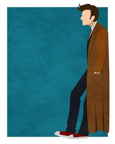 Doctor Who 8x10 print - the Tenth Doctor/David Tennant