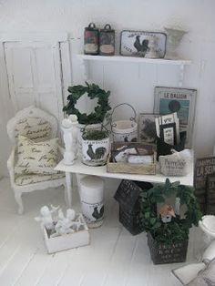 miniatyrmama: shabby chic shop - swoon :)