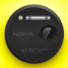 The camera on the Nokia Lumia 1020 has a 41-megapixel sensor!