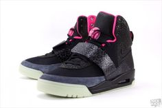 Nike Air Yeezy 1 - Black Solar/Pink