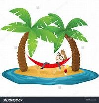 Image result for Girl Cartoon Image of Island