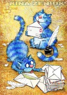 Blue Kitties