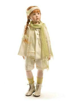 Хорошие новости от Hildegard Gunzel / Коллекционные куклы Hildegard Gunzel, Хильдегард Гюнцель / Бэйбики. Куклы фото. Одежда для кукол