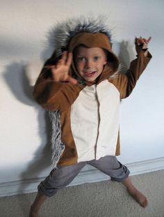 hedgehog gruffalo forest monster bat by maiiberlin on Etsy Halloween Bats, Diy Halloween Costumes, Halloween 2018, Family Costumes, Group Costumes, Cotton Cord, The Gruffalo, Animal Costumes, Kids Hands