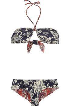SABEL MARANT  Waikiki reversible printed bikini  $355