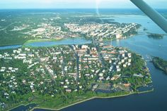 Vaasa, Finland Finland Country, Finland Travel, Upper Peninsula, Arctic Circle, Ancestry, Wonders Of The World, Travel Ideas, Airplane View, Norway