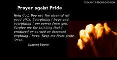 The Lie that Leads to Pride | Devotional by Suzanne Benner