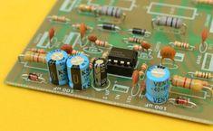 Amplificador Estereo Híbrido de 1000 Watts Electronics Projects, Iphone 6, Diy Amplifier, Speaker Box Design, Electrolytic Capacitor, Audio, Circuit Diagram, Nintendo Consoles, Emerson