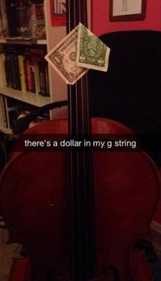 I love being a cellist because of the hilarious jokes!!!! And also because the cello is the best instrument!!!!
