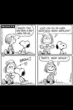 well put snoopy. :) <3