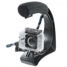 C-Form Stabilisators Halterung mit Hülle für GoPro Fernbedienung für alle GoPro Kameras - GoPro - GoPro Halterungen - Bild 1