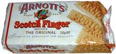 Arnotts Scotch Finger - enjoy with a 'cuppa'