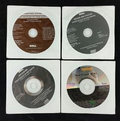 Dell Reinstall DVD Windows7 Pro 32Bit 0PPK5P w/Apps Drivers & Utilities - 5 Pack