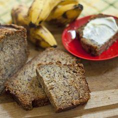 Sugar Crusted Banana Bread