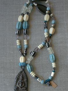 OAK Tribal Necklace from KITTY MERSCH www.facebook.com/viennaessentials