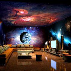 Free shipping Planet Nebula night sky universe sand ...