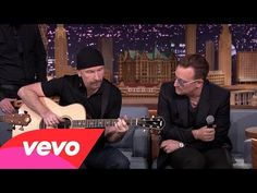 U2 Ordinary Love ....acoustic version on the Tonight Show with Jimmy Fallon Feb. 2014 LOVE!