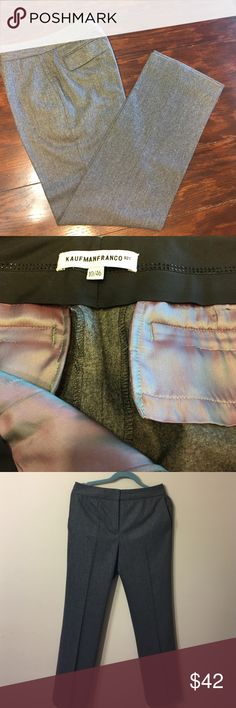 "KAUFMANFRANCO Size 10/46 Expensive brand Trousers Newer worn,new ,condition new, brand is extra expensive , wool/ cashmere  blend . Top Quality Dimensions: Waist 32"".  Inseam 32 Kaufmanfranko Pants"