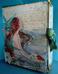 Altered Cigar Box.  Beautiful!!