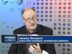 Jeremy Sampson, Group Executive Chairman of Interbrand Sampson talks Best Global Brands 2010