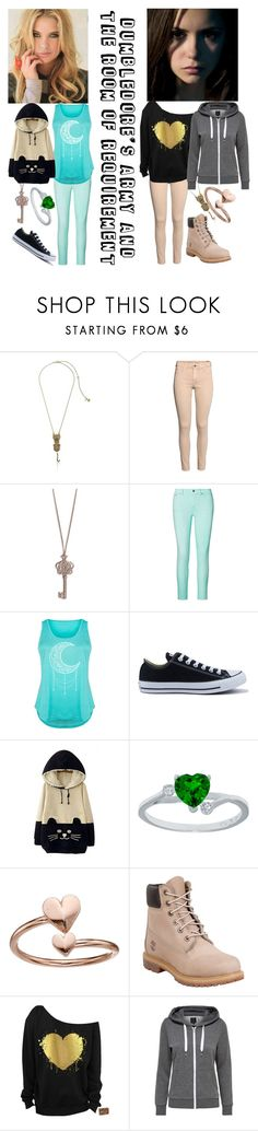 """Dumbledore's Army and the Room of Requirement"" by mrsnotsoperfect ❤ liked on Polyvore featuring Betsey Johnson, H&M, Vera Bradley, Ralph Lauren, LC Trendz, Converse, WithChic, Alex and Ani, Timberland and plus size clothing"