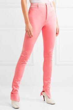 Balenciaga - Stretch-satin Skinny Pants - Pink - FR34