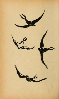 Pierre Bonnard (French, 1867–1947). Hirondelles (Swallows). Illustration from Histoires Naturelles, 1904.