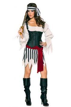 Mistress Pirate Costume