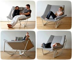 The Rocking Chair for Two. Project Sway Marcus Krauss
