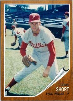 Baseball Cards That Never Were: 1962 Topps Chris Short, Philadelphia Phillies