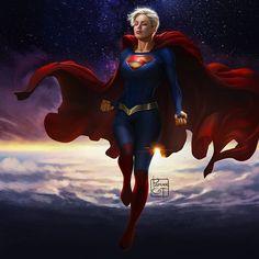 Power Girl Supergirl, Supergirl Dc, Superman Art, Superman Family, Batman, Dc Comics Girls, Dc Comics Art, Marvel E Dc, Captain Marvel