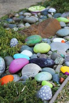 Build a garden that rocks: Turn plain stones into a whimsical surprise | Dallas-Fort Worth Lifestyles News - News for Dallas, Texas - The Dallas Morning News