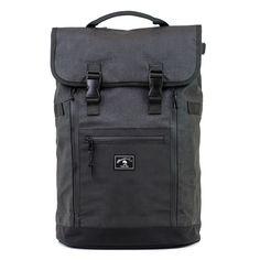 Babylon Backpack in Metallic Black by Wheelmen & Co.