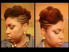 Hairdeas! When I get tired of playing with my hair.