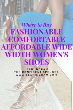 4696b7ef577f Where to Buy Fashionable Comfortable Affordable Wide Width Shoes for Women   wheretobuywomensshoes