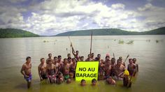 Protesto no Tapajós: Barre a barragem