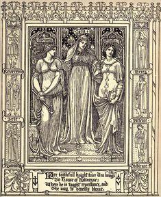 Walter Crane 'The Faerie Queene, Book II' by Edmund Spenser