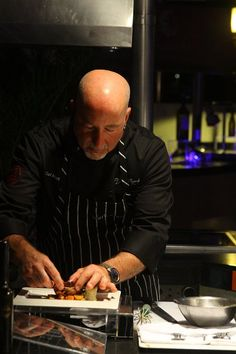 April #Wine Gala Dinner with chef Mark Stark at Fuentes Culinary Theater.
