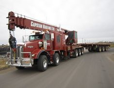 Kenworth T-800s for oil fields are unique beasts. Not old..very new....
