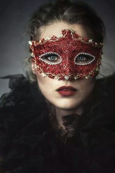 .She hid behind a mask for her whole life, and he was the only one to ask what hid behind it...