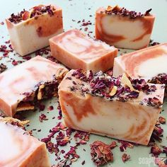 Juicy Orange & Sweet Rose Cold Process | Soap Queen